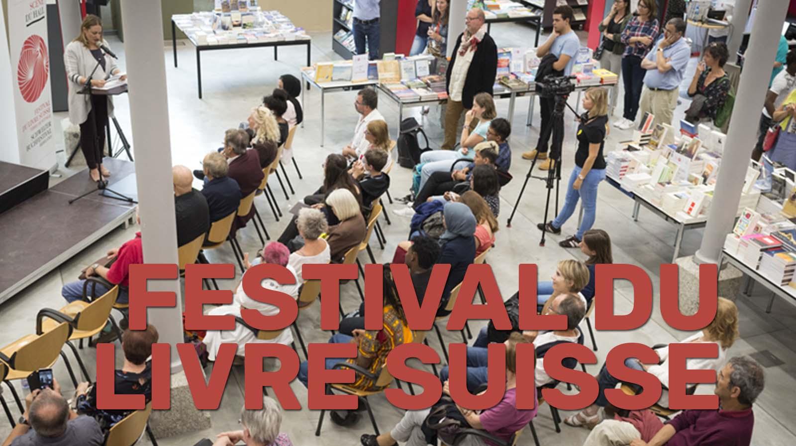Le festival du livre suisse - salon du livre de Genève
