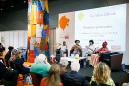 Le salon africain, scène du salon du livre de Genève