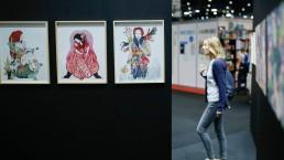 Les expositions du salon du livre de Genève