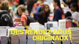Rendez-vous originaux du salon du livre de Genève