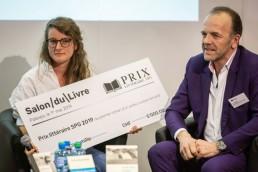 Prix littéraire SPG - salon du livre de Genève