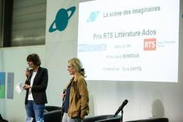 Prix RTS du salon du livre de Genève à Palexpo