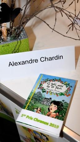 Prix Chronos du salon du livre de Genève - Palexpo