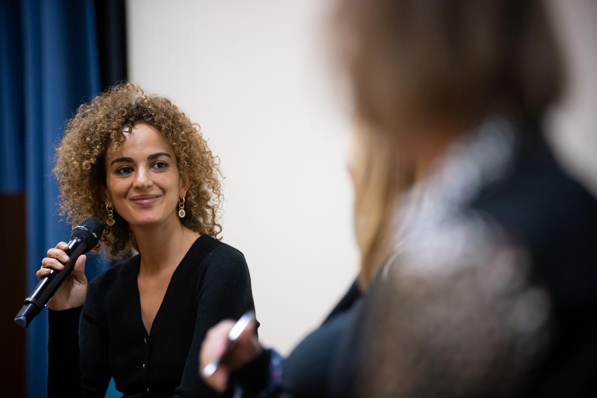 Leila Slimani salon du livre en ville