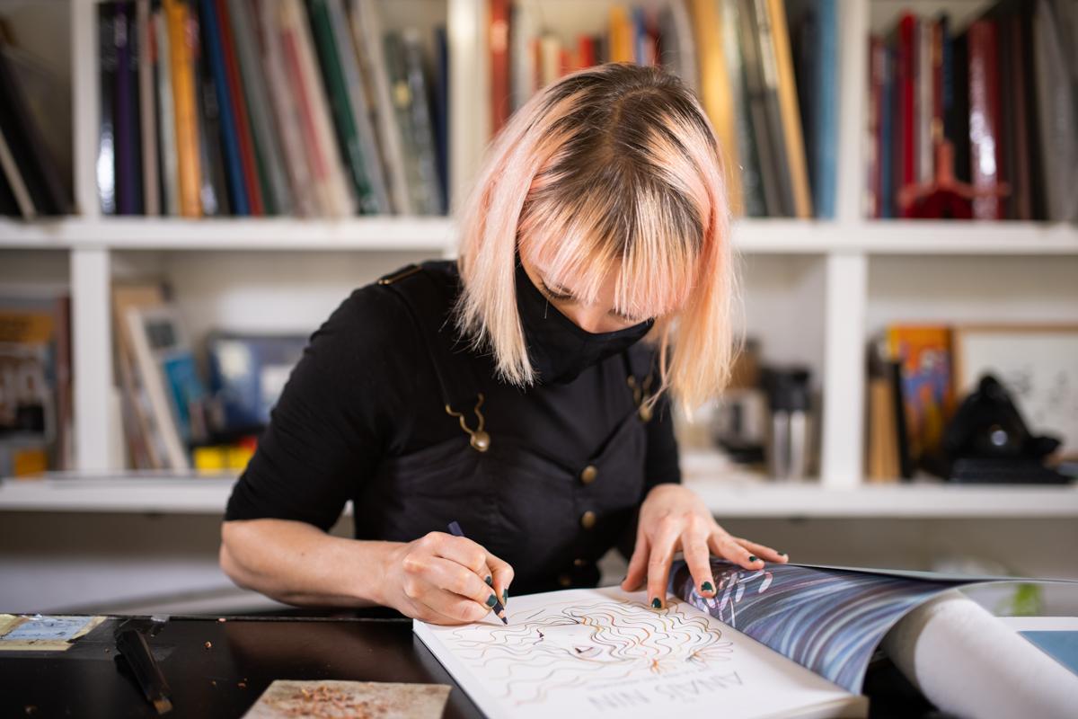 Léonie Bischoff salon du livre en ville