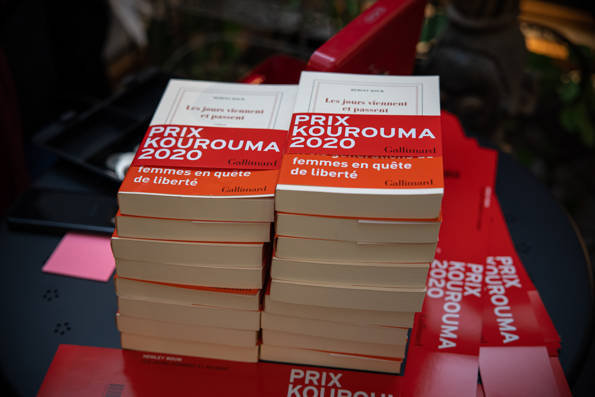 Prix Kourouma salon du livre en ville