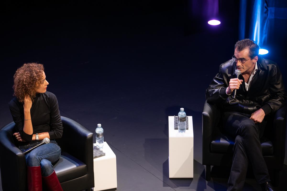 Leïla Slimani et Raphaël Enthoven